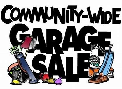 Community Garage Sale Sign